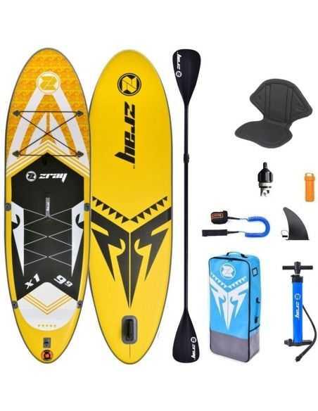 ZRAY X1 X-Rider 9' 9''  Option Kayak 2020 : Paddle Gonflable
