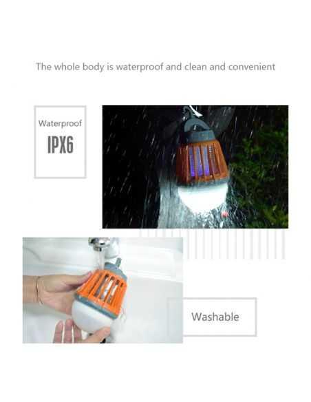 Lampe anti-moustique - MOSKIT-R - étanche