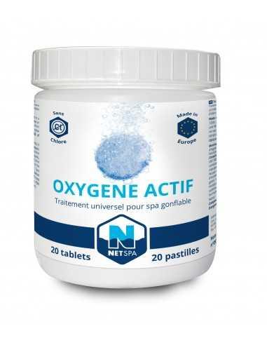 Traitement à l'oxygène actif NetSpa - 20 pastilles de 200 g