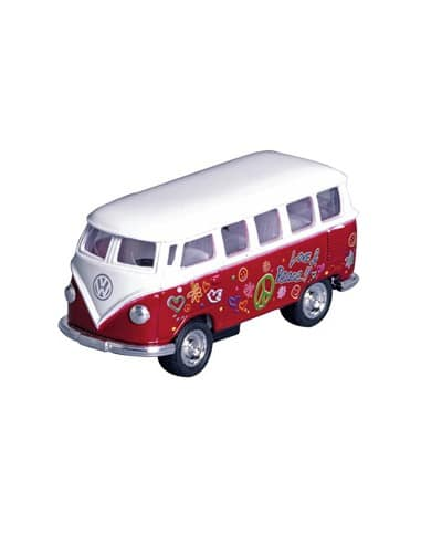 Bus Volkswagen T1 Flower Power (1962) 1:64 (6,5 cm)