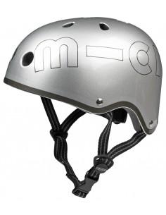 Casque Gris Métal Micro