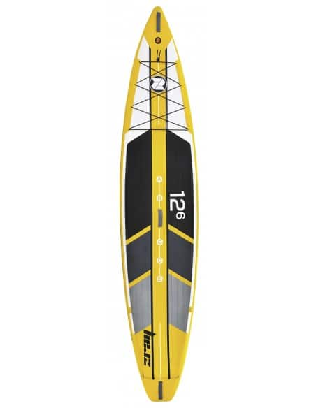 "Stand Up Paddle R1 race ZRay 12.6"" (381x76x15cm)"