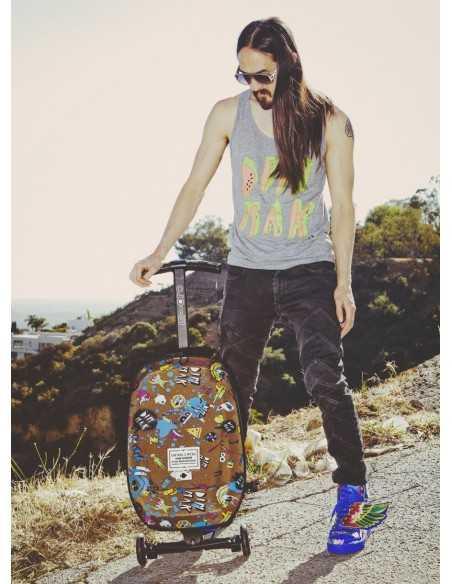 Micro Lugage 2 valise cabine et trottinette