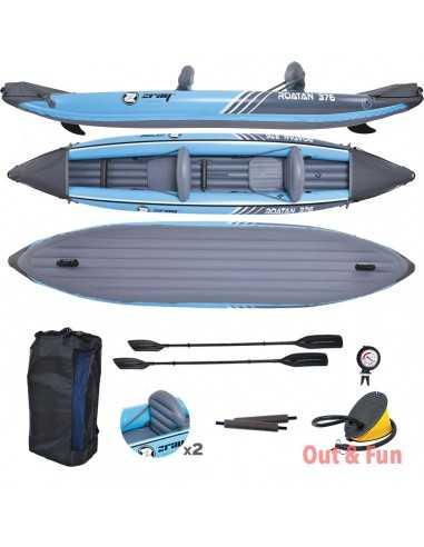 Kayak ZRAY ROATAN 2 places (376*77*34CM)