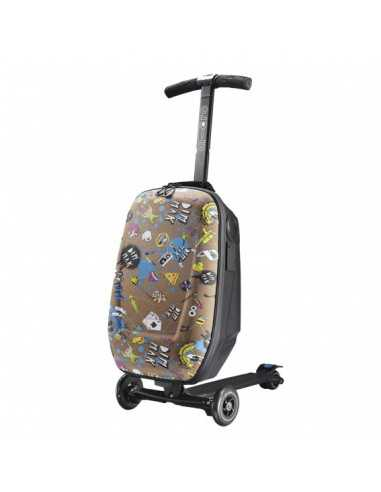 Micro Luggage valise trottinette STEVE AOKI