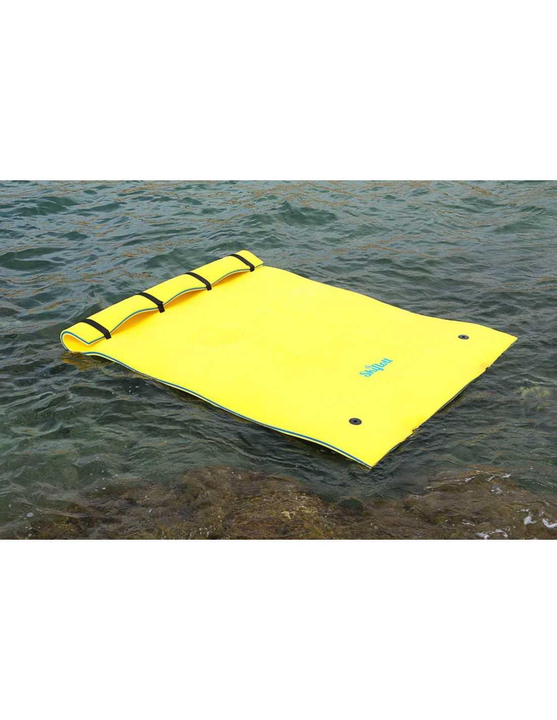 Tapis flottant skiflott s nouveaut 2018 for Tapis flottant piscine