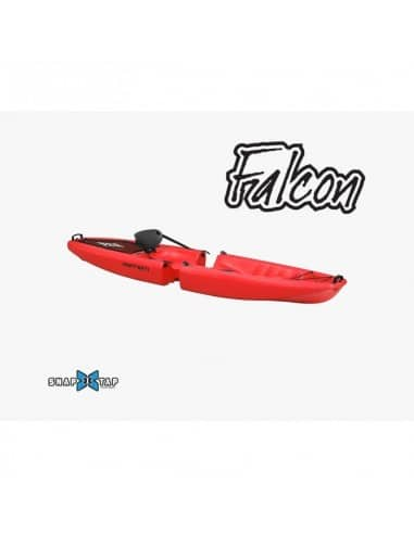 Kayak modulable FALCON Solo (seat on top 1 place) - Rouge