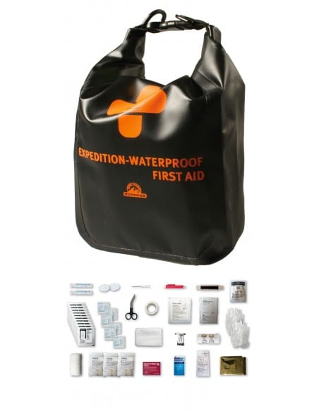 Trousse de secours - Waterproof XL - EXPEDITION FIRST AID 59 pièces