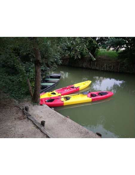 Kayak modulable APOLLO solo (seat on top 1 place) - rouge