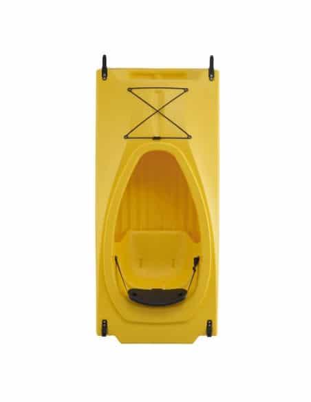 SCOUT tandem (seat on top 2 places) - Kayak modulable jaune