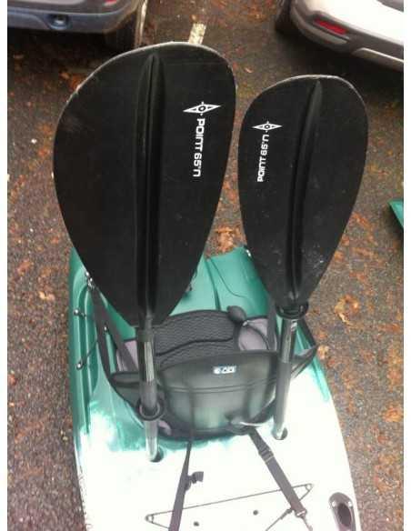 TEQUILA Angler GTX duo (seat on top 2 place) - Kayak modulable spécial pêche - vert camo