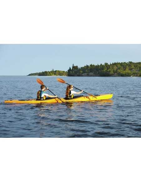 Kayak modulable - Mercury GTX tandem (seat in 2 places) - jaune