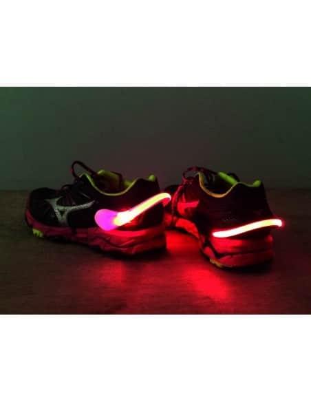 Clip lumineux pour chaussure