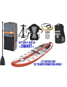"Stand Up Paddle ZRay A1 - Pack ""SMART"" avec siège."