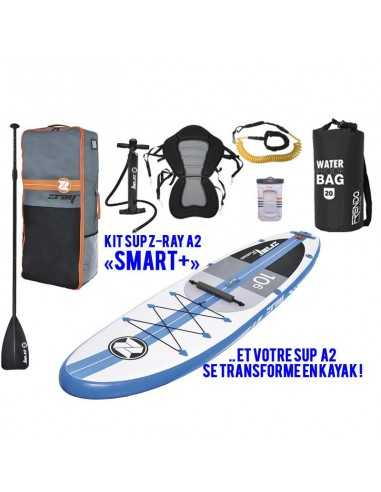 "Stand Up Paddle ZRay A2 - Pack ""SMART+"" avec siège."