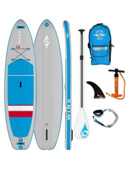 Paddle Gonflable BIC 11' Wing Pack AIR Evo  (Modèle 2019)