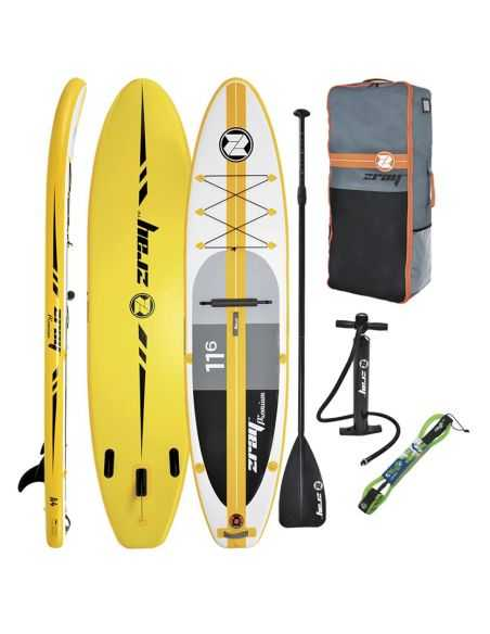 """ZRAY A4 Atoll 11'6"""" Paddle Gonflable"""