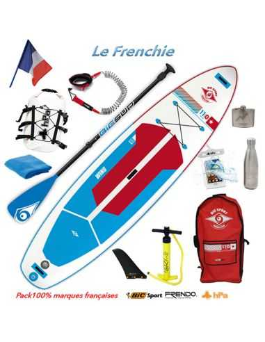 "Pack ""Frenchie"" Paddle BIC 11'0 Wing AIR"