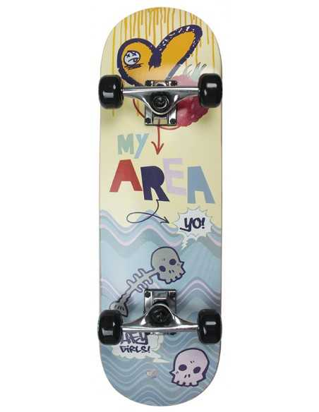Skateboard Junior Sweet Rasberry - 71 cm