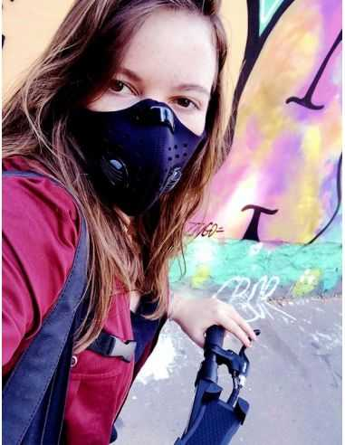 masque respiratoire anti pollution