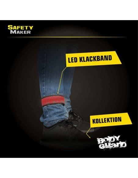 Safety Maker Brassard lumineux à clap automatique