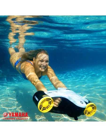 Scooter sous marin Seascooter Yamaha Seawing II White Yellow