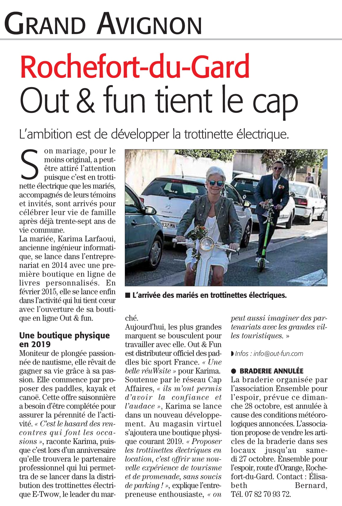Midi Libre Out & Fun 26/10/2019