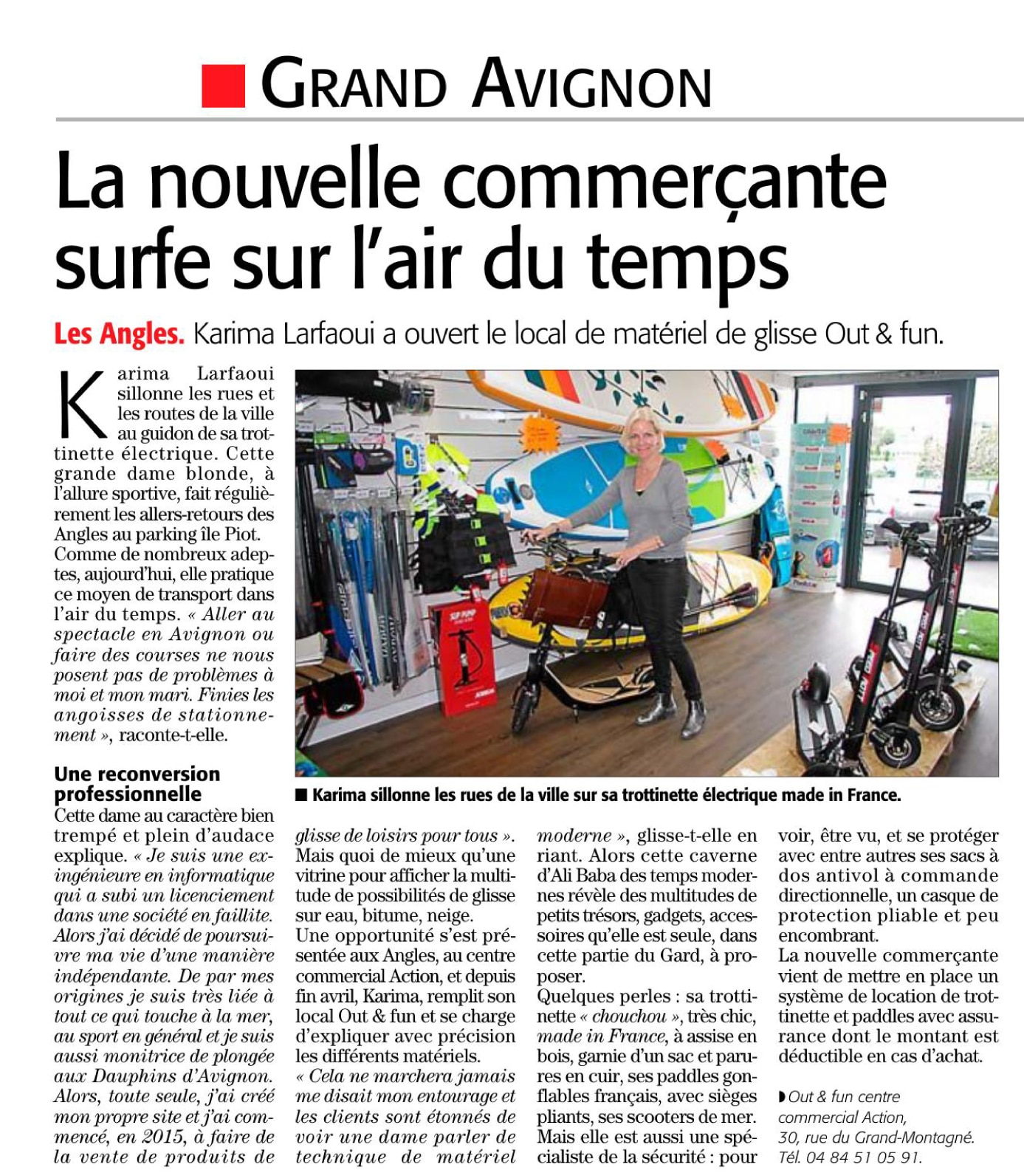 Midi Libre 04/06/2019 Out & Fun